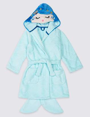 Marks and Spencer Mermaid Dressing Gown (18 Months - 7 Years)