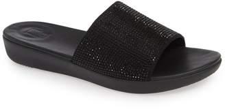 FitFlop Sola Crystal Embellished Slide Sandal