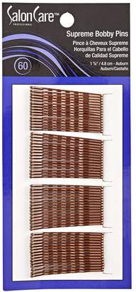 Salon Care Professional Supreme Auburn Bobby Pins 60 Ct