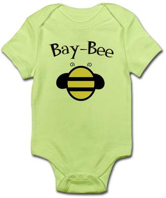 Bumble Bee CafePress - Bay-Bee Baby Bumblebee - Cute Infant Bodysuit Baby Romper