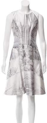 Prabal Gurung Silk-Blend Jacquard Dress