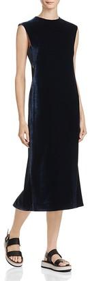 Elizabeth and James Michelle Cutout Velvet Midi Dress $395 thestylecure.com