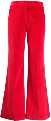Jejia flared corduroy trousers