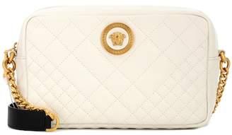 Versace Matelassé leather shoulder bag