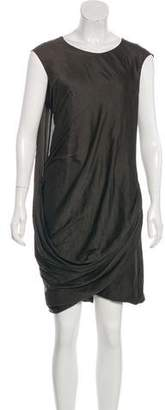 Helmut Lang Layered Sleeveless Dress