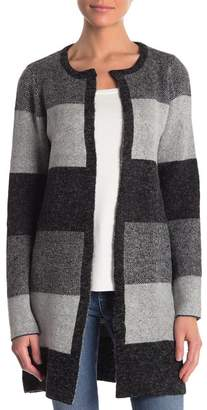 Cyrus Striped Open Front Cardigan
