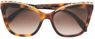 Alexander McQueen Eyewear embellished sunglasses