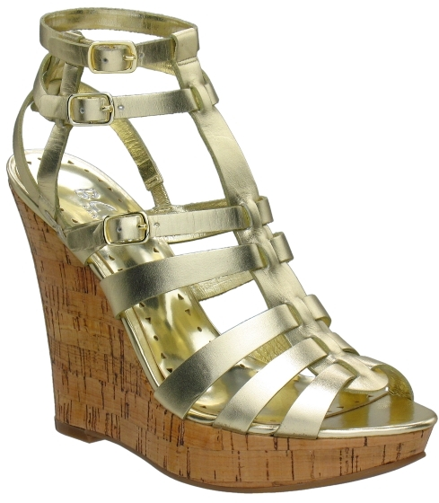 BCBG Paris Glenda Gladiator Wedge