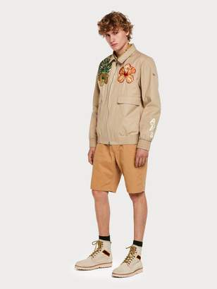 Scotch & Soda Floral Embroidery Jacket