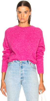 Helmut Lang Brushed Wool Crew Sweater