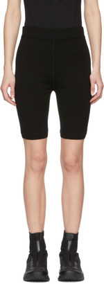 Alexander Wang Black Bodycon Basics Biker Shorts