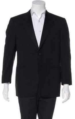 afe0200f5f5 Canali Wool Tuxedo Jacket