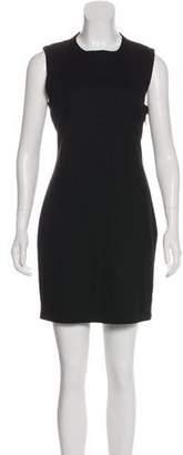 L'Agence Sleeveless Knit Dress