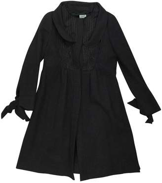 Philosophy di Alberta Ferretti Grey Wool Coats