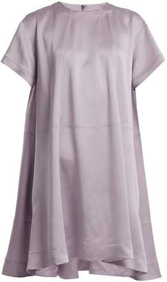 Valentino Hammered Satin Mini Dress