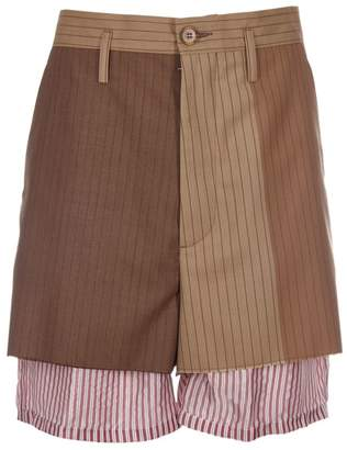 Marni Double Striped Shorts