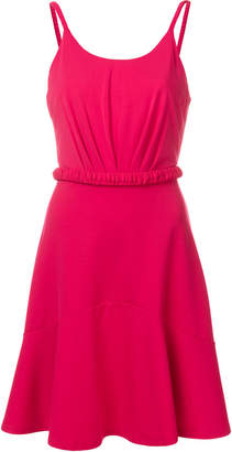 Emporio Armani cinched waist mini dress