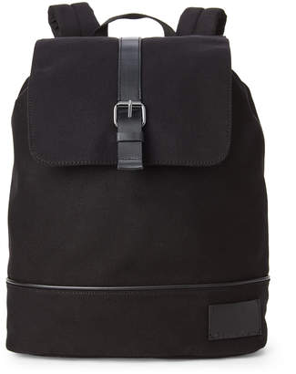 Calvin Klein Black Canvas Backpack