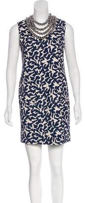 Diane von Furstenberg Embellished Shift Dress w/ Tags
