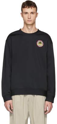 McQ Black Odyssey Badge Sweatshirt