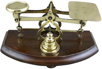 One Kings Lane Vintage Petite English Postal Scale with Weights - Schorr & Dobinsky