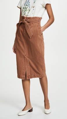 Free People Savannah Belted Skirt