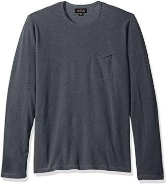 Velvet by Graham & Spencer Men's Akins Long Sleeve Crew Cotton