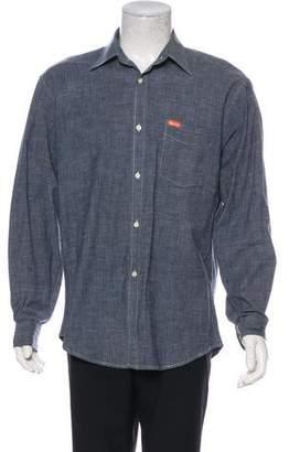 Façonnable Woven Button Shirt