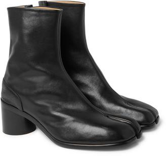 Maison Margiela Tabi Split-Toe Leather Boots