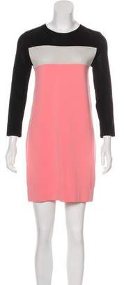 Diane von Furstenberg Aina Colorblock Mini Dress
