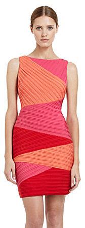 BCBGMAXAZRIA Colorblock Dress