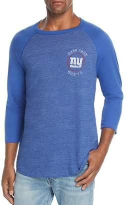 Junk Food Clothing New York Giants Tonal Raglan Tee