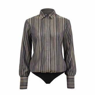 Saint Body Stripes Shirt Bodysuit