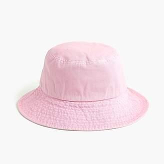J.Crew Canvas bucket hat