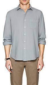 Hartford Men's Cotton Voile Sport Shirt - Gray