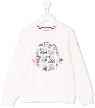 Moncler comic strip print sweatshirt