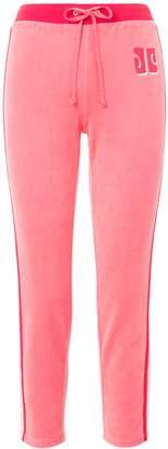 Couture Juicy CoutureJuicy COLORBLOCK LOGO TRK VELOUR PANT