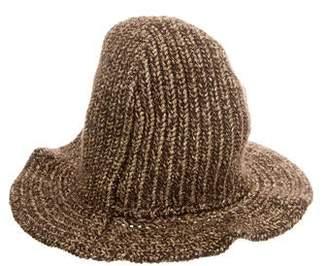 Ralph Lauren Metallic Cashmere Knit Hat w/ Tags
