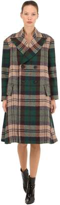 Vivienne Westwood Virgin Wool Plaid Coat