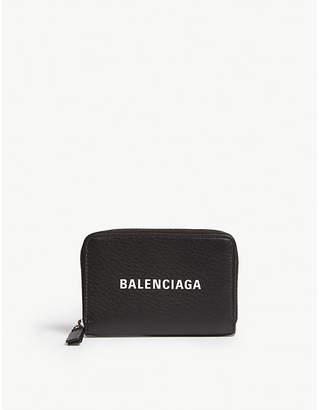 Balenciaga Baltimore leather zip-around wallet