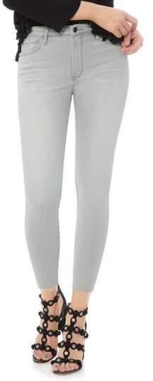 The Stiletto Raw Hem Skinny Jeans