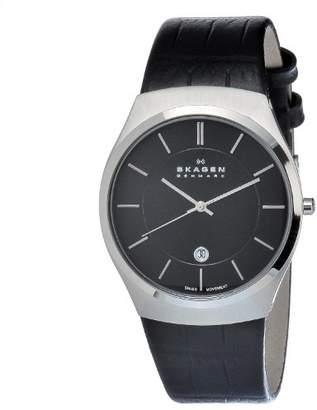 Skagen Men's 925XLSLB Stainless Steel Dial Watch