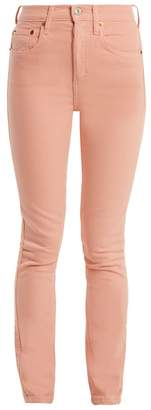 Re/Done Originals Re/done Originals - High Rise Skinny Jeans - Womens - Pink