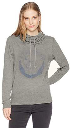 Fifth Sun Desert Dream Graphic Women's Long Sleeve Cowls Top