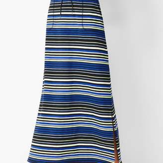 Talbots Stripe Maxi Skirt