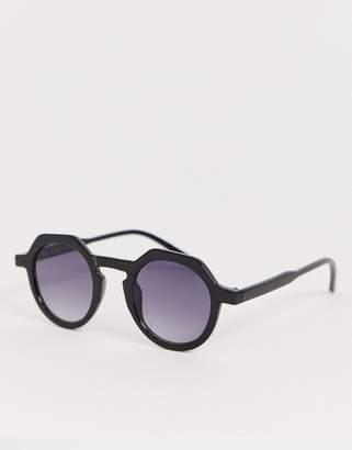 Aj Morgan AJ Morgan Aviator sunglasses in black