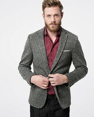 Le Château Tonal Tweed Slim Fit Blazer
