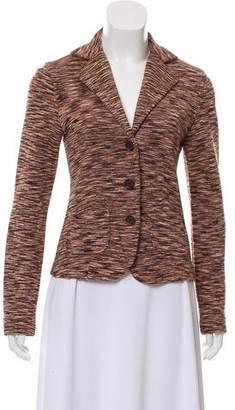 Magaschoni Silk Printed Blazer