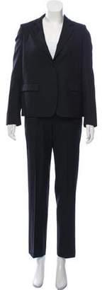 Chloé Wool Notch-Lapel Pant \suit