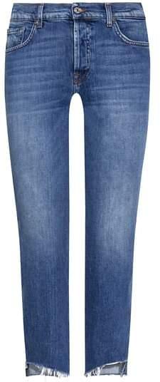 Edie 7/8-Jeans High Waist Crop Straight | Damen (24)